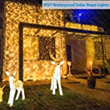 Asmader Solar String Lights Outdoor, 60 ft 200 LEDs