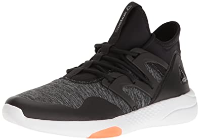 Reebok Women s Hayasu Training Shoe Black/Vitamin C/White 6 B(M