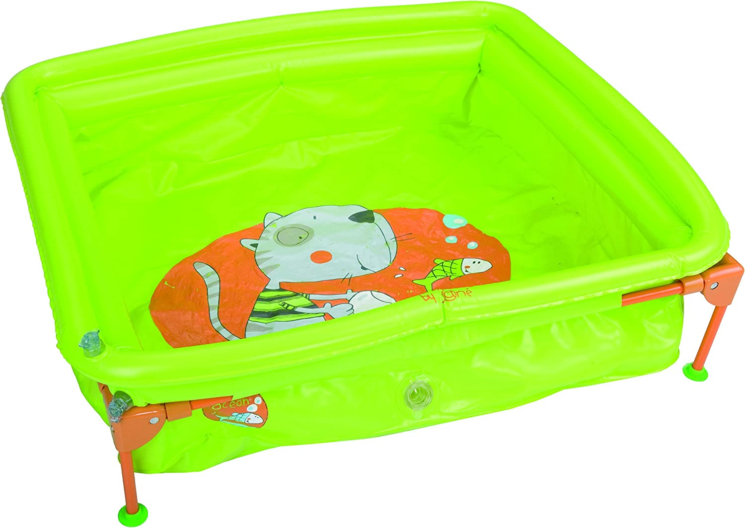 Jane Piscina plegable adaptable al plato de ducha 40303: Amazon.es ...