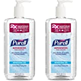 PURELL Advanced Instant Hand Sanitizer, 1 Liter (Pack of 2)