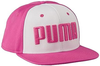 Puma Gorra ESS Flatbrim Cap para Mujer Color Rosa Talla unitalla ... b418fb62387