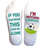 Liverpool Socks Football Funny Birthday Gift Soccer Game