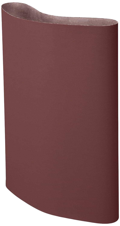 60 Grit 1 Width x 42 Length Pack of 200 Aluminum Oxide 3M Cloth Belt 341D