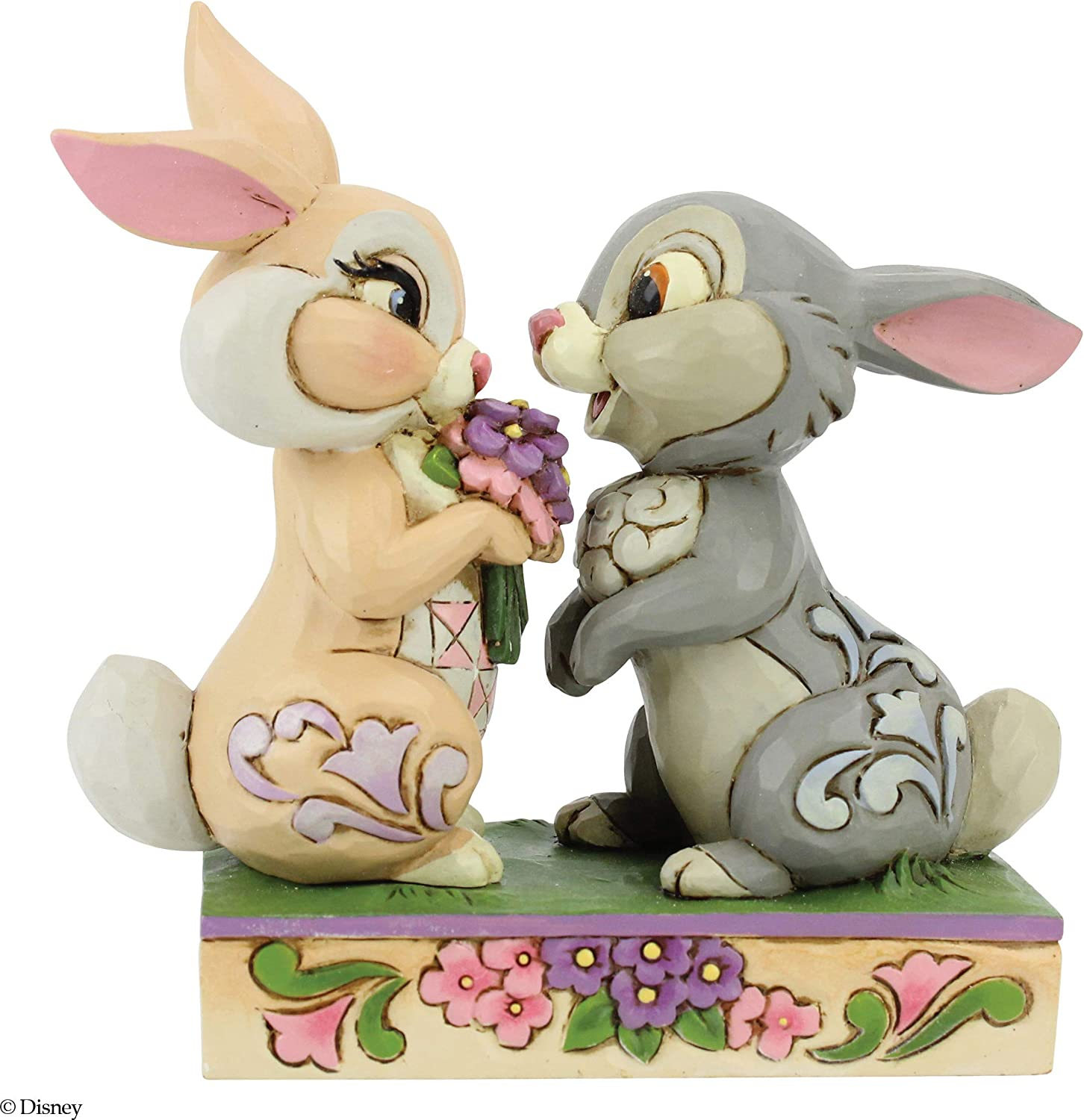 Enesco Disney Traditions by Jim Shore Thumper and Blossom Snuggling Figurine
