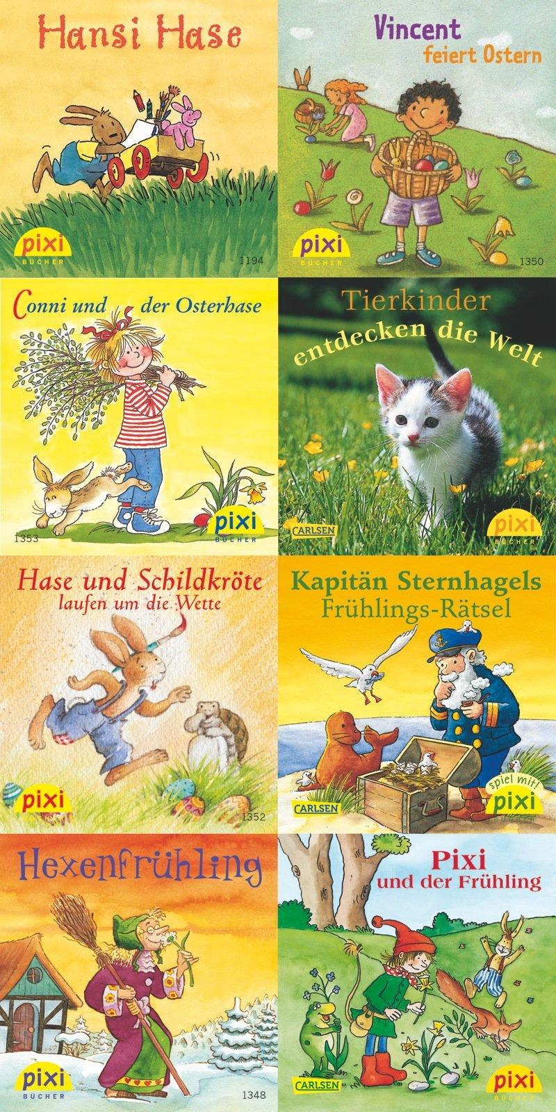 Pixi-Bundle 8er Serie 151: Frühling mit Pixi