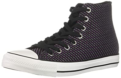 9ac39a11589f32 Converse Women s Chuck Taylor All Star Woven High Top Sneaker