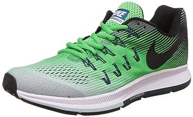 anländer officiell leverantör nya anländer Buy Nike Men's Air Zoom Pegasus 33 Green Running Shoes - 7 UK ...