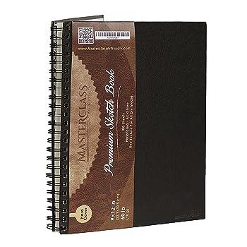 MASTERCLASS ART SUPPLY CO 200 GSM Sketchbook