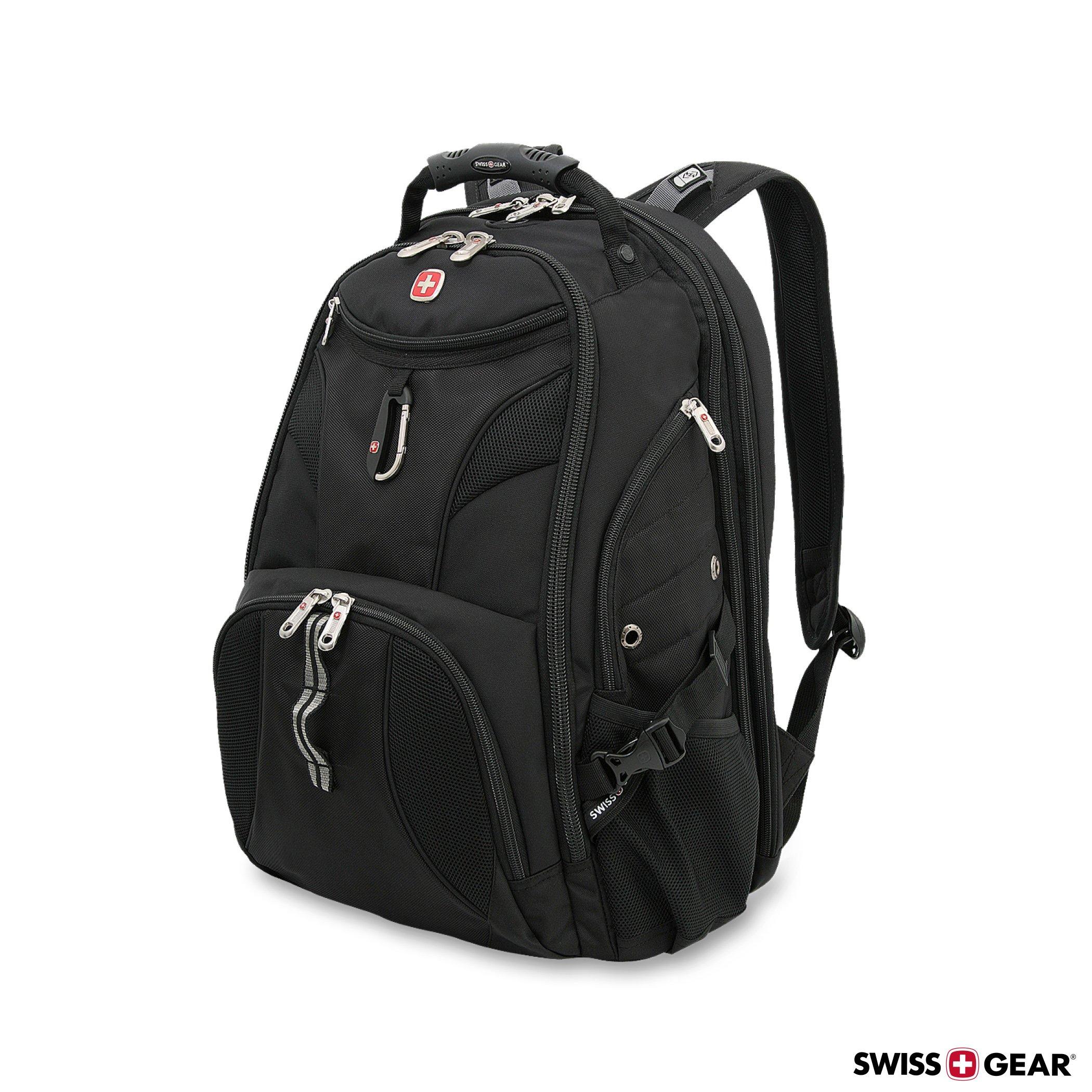 SwissGear 1900 Scansmart TSA Laptop Backpack - Black