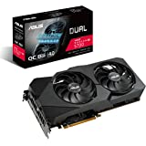 ASUS AMD Radeon RX 5700 Overclocked 8G GDDR6 Dual Fan EVO Edition HDMI DisplayPort Gaming Graphics Card (DUAL-RX5700-O8G-EVO)