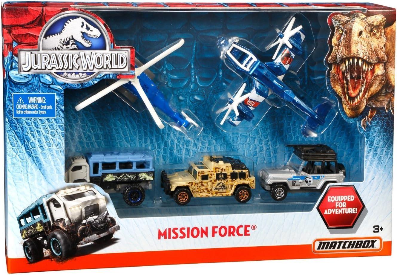 Matchbox Mattel DFW20 Jurassic World vehículos misión Especial: Amazon.es: Juguetes y juegos