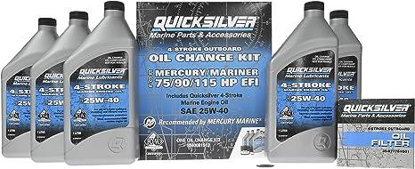 Stern Drive//Outboard oil change kit for lower gear housings.