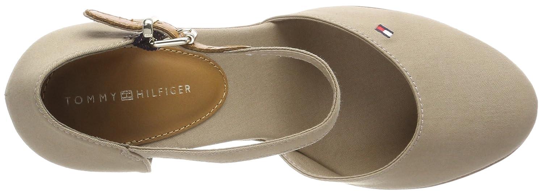 b39452282 Tommy Hilfiger Women s Iconic Basic Closed Toe Wedge Espadrilles ...