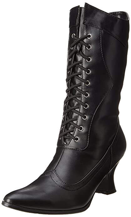 Ladies Victorian Boots & Shoes – Granny boots Amelia Slouch Boot  AT vintagedancer.com