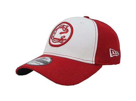 New Era 39Thirty Hat Chivas De Guadalajara Oficial Liga MX Soccer Flex  Red White Cap c14e7296928