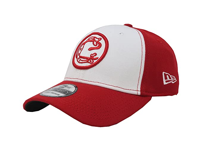 d8ed725ff13 New Era 39Thirty Hat Chivas De Guadalajara Oficial Liga MX Soccer Flex Red White  Cap