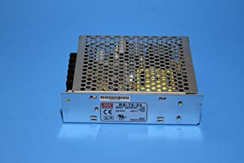 75 Watts 24V. RS-75-24 Mean Well AC//DC Single Output Power Supply