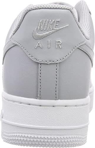 Nike AIR Force 1 '07, Baskets Homme, Gris (Wolf GreyWolf Grey White), 45.5 EU