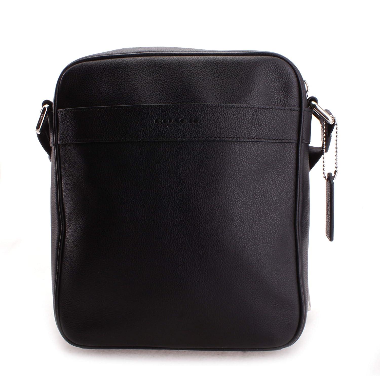 8e8fa3ab Amazon.com: Coach Men's Charles Flight Bag Saddle No Size (Black ...