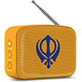 Saregama Carvaan Mini Gurbani - Bluetooth Speaker (Saffron Orange)