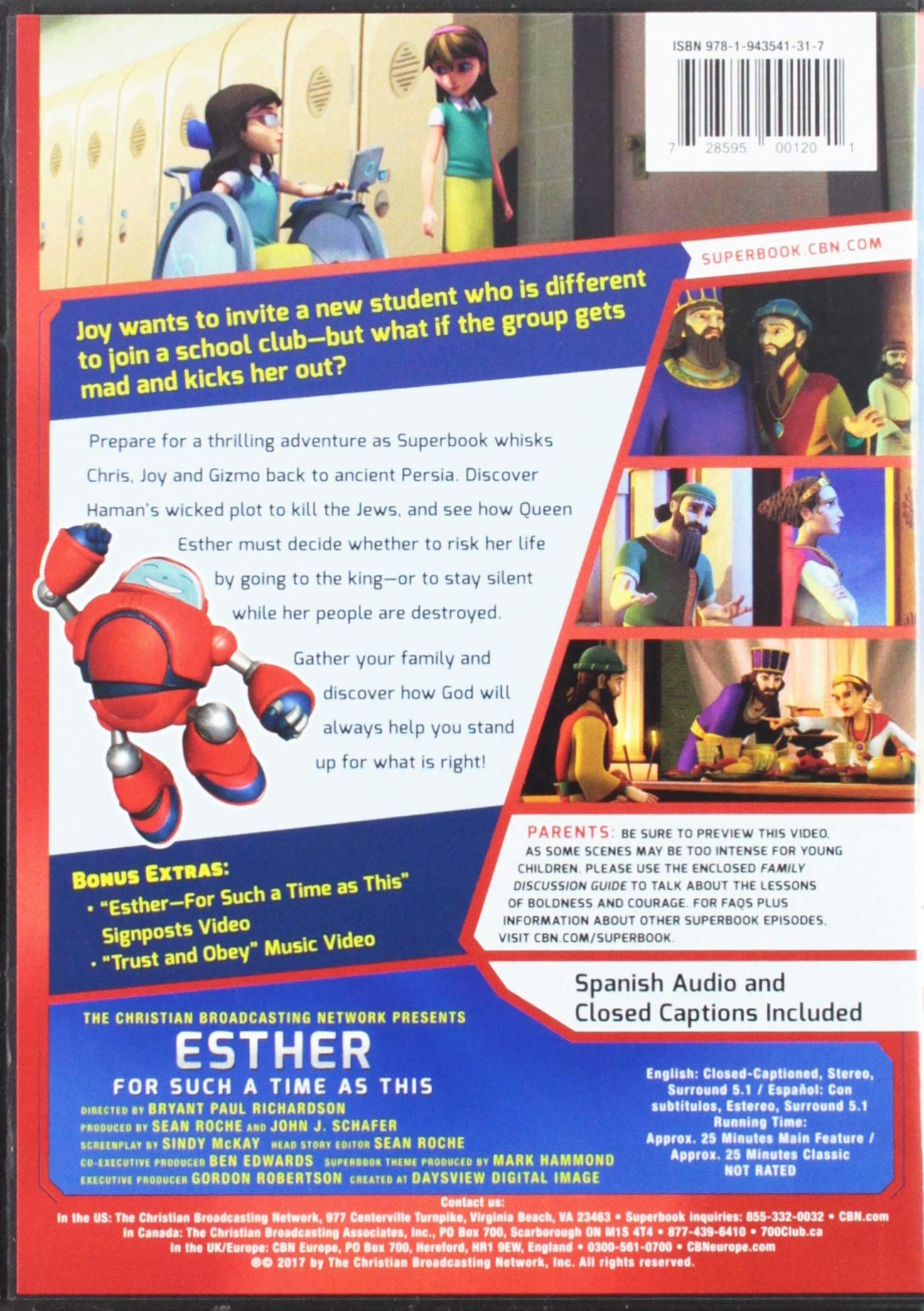 Esther for Such a Time as This: Amazon co uk: Cbn