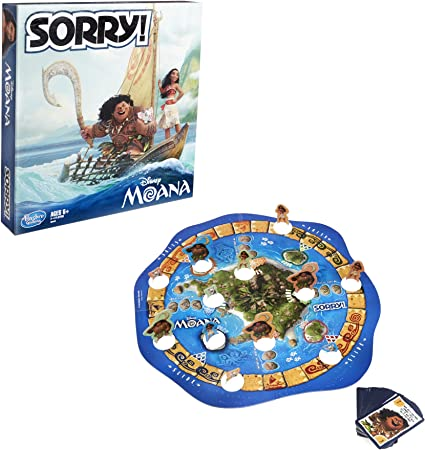 Hasbro Sorry! Game: Disney Moana Edition: Amazon.es: Juguetes y juegos