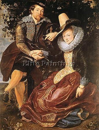 amazon com rubens artist his first wife isabella brant honeysuckle