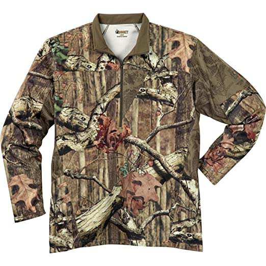 037caacb42e91 Rocky Men's Silent Hunter 1/4 Zip Shirt, Realtree Extra Camouflage, 3X-