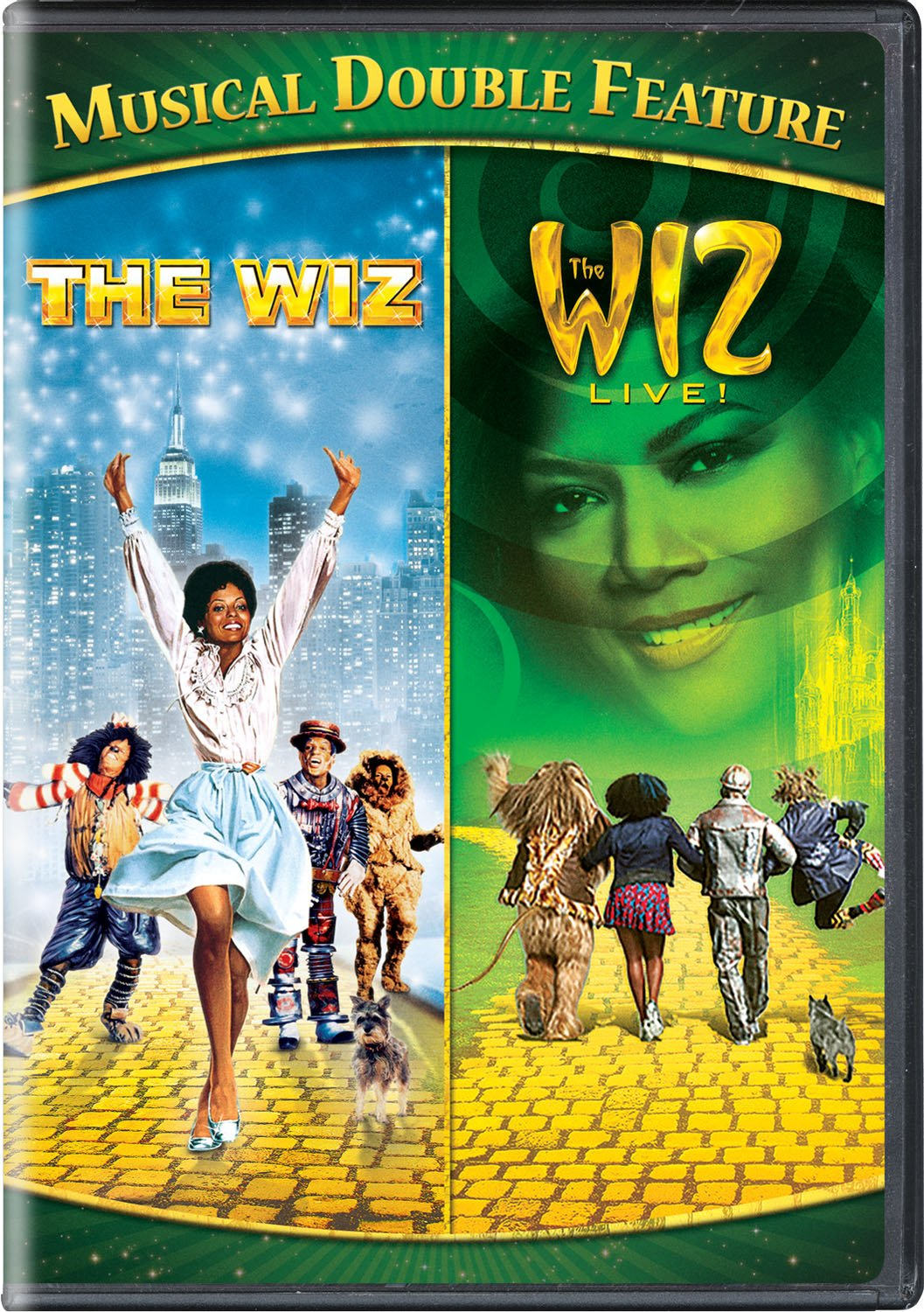 Amazon com: The Wiz / The Wiz Live! Musical Double Feature
