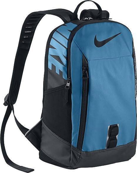 Nike Ya Alpha Adapt Rise Solid Mochila, Unisex Niños, Azul (Vivid Sky Black