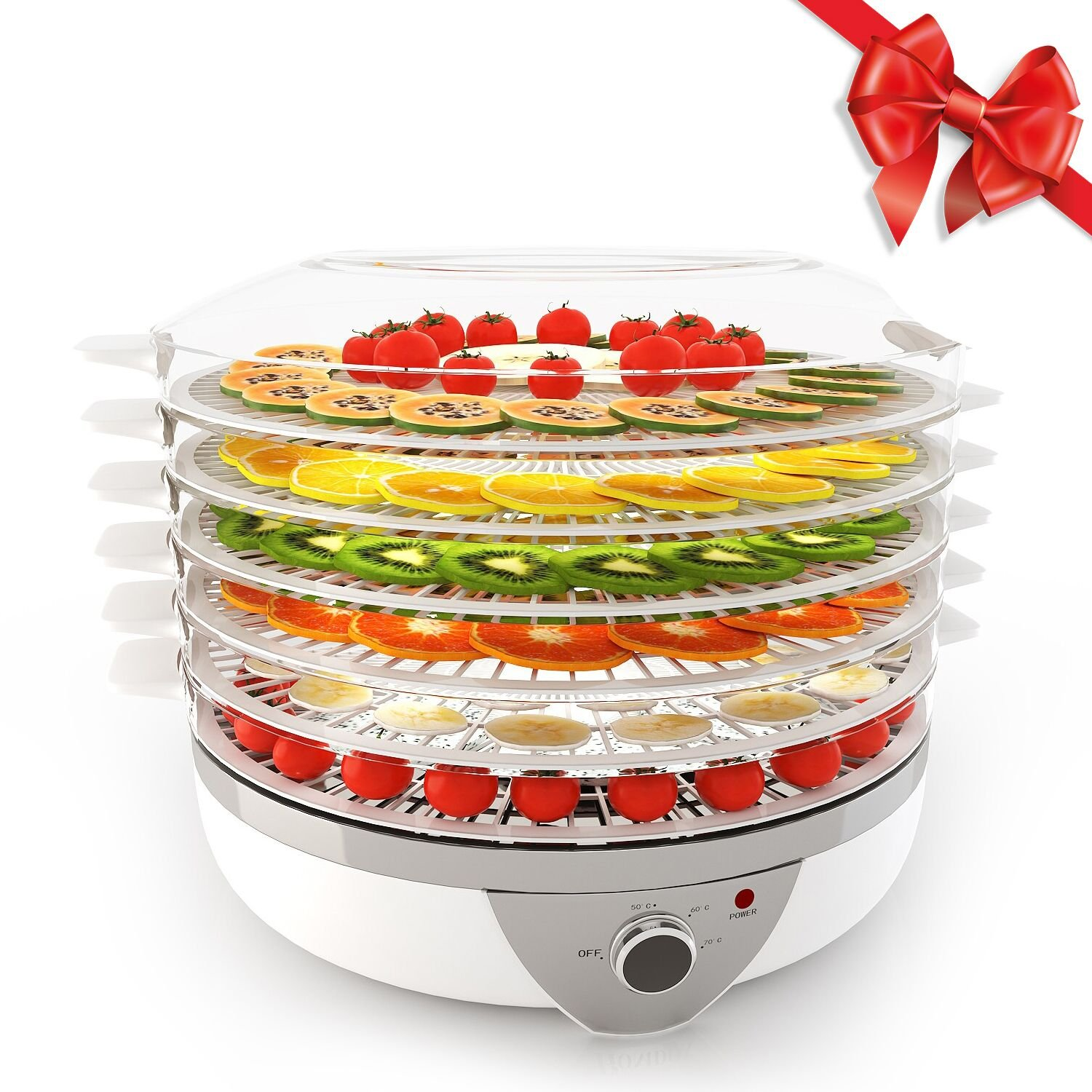 Homdox Food Dehydrator Machine Fruit Dehydrator BPA Free