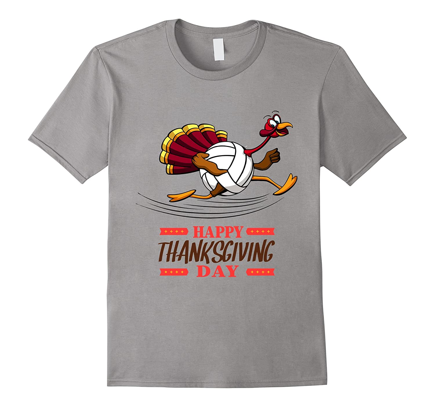 Thanksgiving Turkey Volleyball T Shirt-ANZ