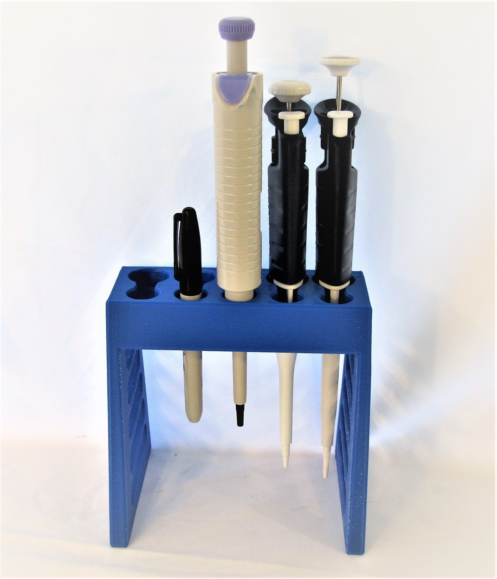 Universal Pipettor Rack, Pipette Stand, 5 Positions