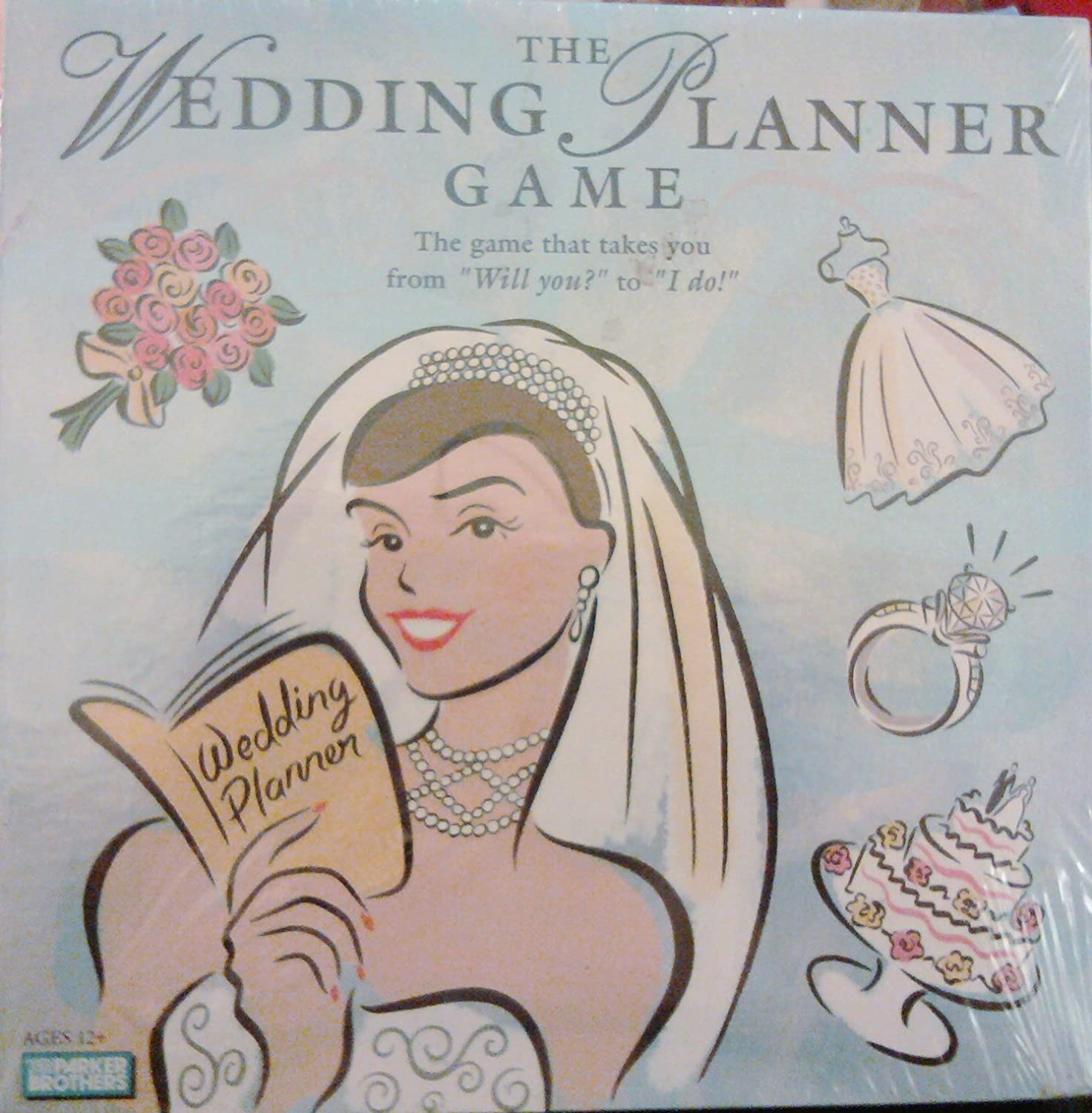 Amazoncom The Wedding Planner Game by Parker Brothers Toys Games