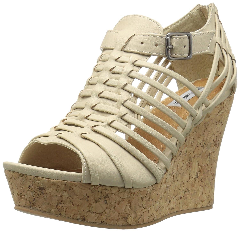 Not Rated Women's Jolina Wedge Sandal B01MCZ02BB 10 B(M) US|Cream