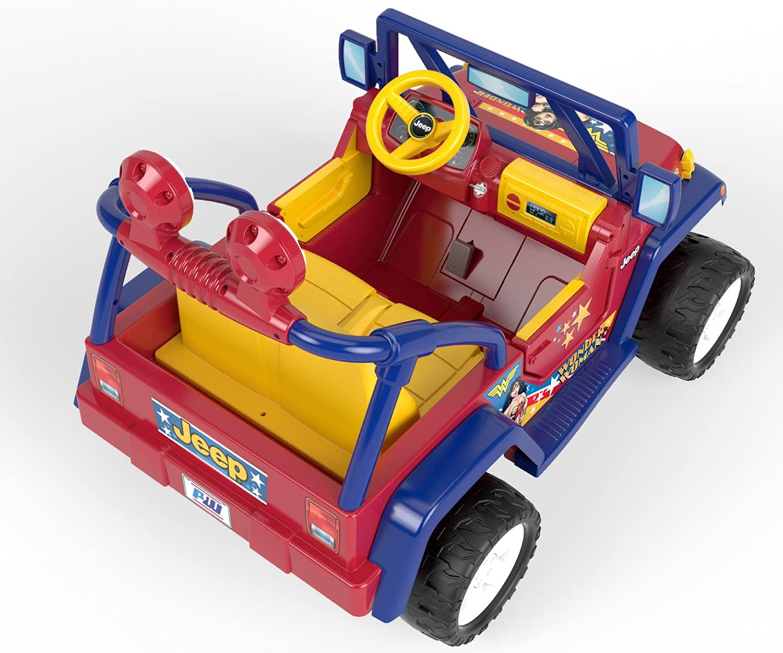 Power Wheels Disney Pixar Toy Story Jeep Wrangler Ride On Toys Accessories