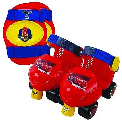 Disney Cars PlayWheels Cars Jr Skate Combo: Toys & Games