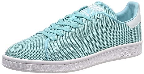 adidas Stan Smith Zapatillas Altas, Mujer, Verde Green/White, 42 EU