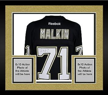 840885acc Framed Evgeni Malkin Pittsburgh Penguins Autographed Black Rookie Season  Model Reebok Premier Jersey - Fanatics Authentic