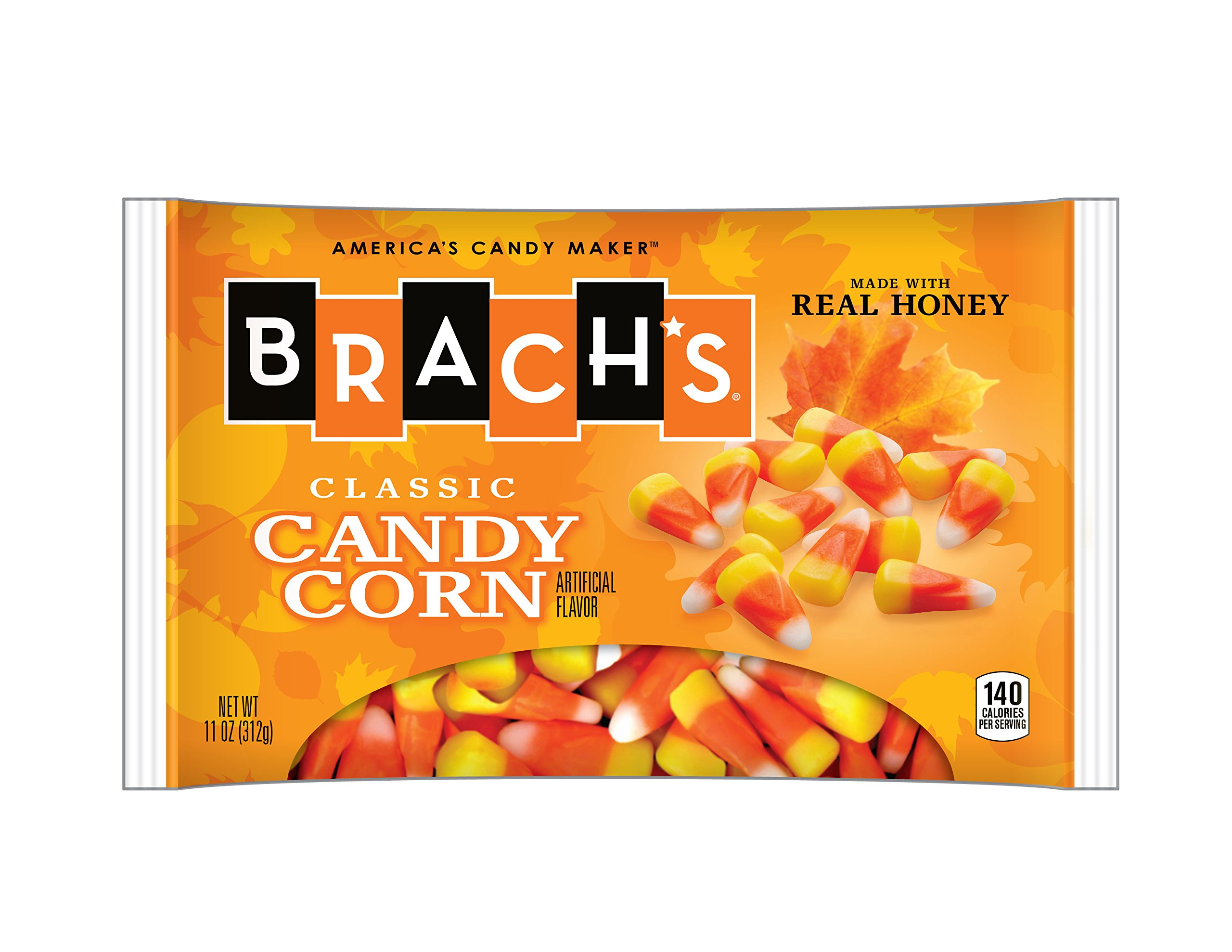 Brach's Candy Corn, 11 Ounce Bag, Pack of 36