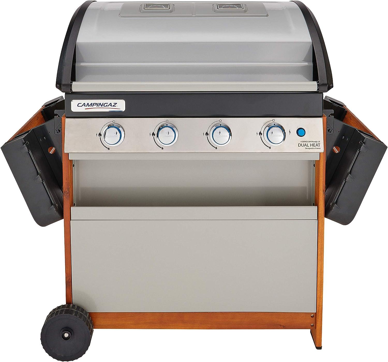 Campingaz 4 Series Dual Heat - Parrilla de gas, barbacoa con ...