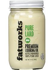 Pure Pork Lard, Free Range & Pasture Raised, 14oz