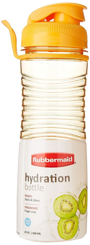 Rubbermaid Hydration Chug Bottle, 20 Ounce, Assorted Colors 1807578