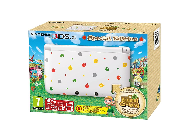 Nintendo 3DS - Consola, Formato XL + Animal Crossing: New Leaf ...