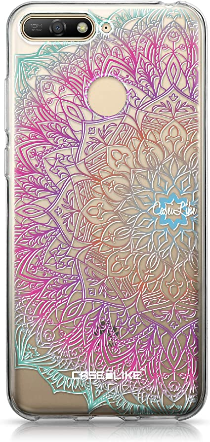 CASEiLIKE/® Coque Honor 9 Art Mandala 2090 TPU Silicone Soft Housse Etui Coque pour Huawei Honor 9