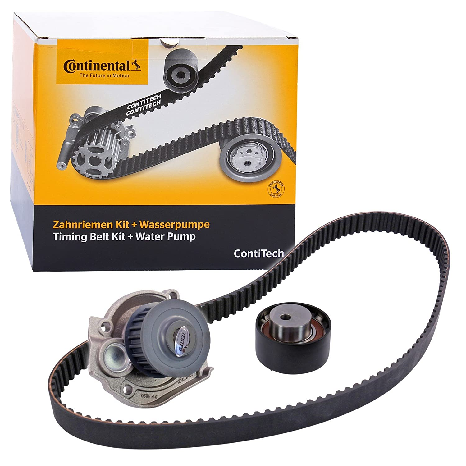 Contitech Ct1049wp1 Water Pump Timing Belt Kit Amazonco Outer Cover Car Motorbike