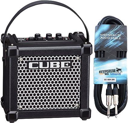 Roland Micro Cube GX Guitarra Amplificador + Keepdrum Guitarra ...