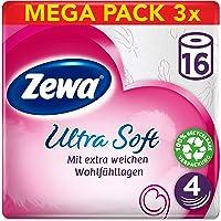Zewa Ultra Soft Toalettpapper, 3 x 16 Stycken