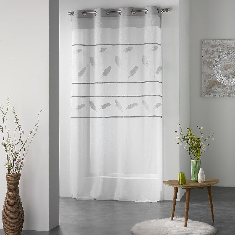 Douceur dInt/érieur Teora Panneau /à Oeillets Polyester Multicolore 280 x 140 cm