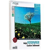 """Schwarzwald Mühle Fotopapier DIN A4: 100 Bl. Fotopapier""""Excelsior matt"""" 230g/m² A4 (Beschichtete Fotopapiere)"""